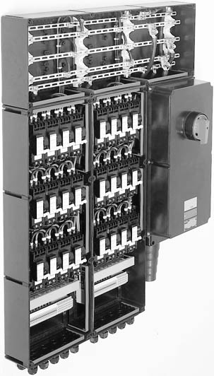 Взрывозащищенные распределительные устройства модульной конструкции