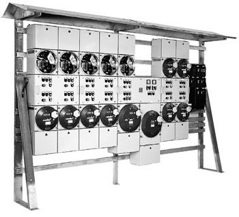 Взрывозащищенные корпуса и распределительные устройства (класс защиты Ex-d) из металла для использования во взрывоопасных газовых средах группы II C