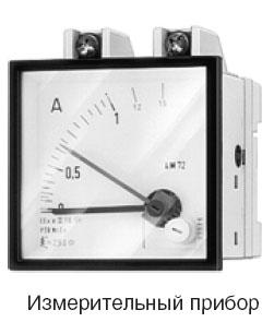 Коды выбора переключающего устройства, коммутации и измерительного прибора