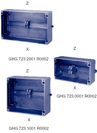 GHG 723 00, GHG 723 10, GHG 723 20