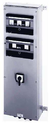 Взрывозащищенные распределители с автоматическими предохранителями конструктивной серии GHG 619 из металла