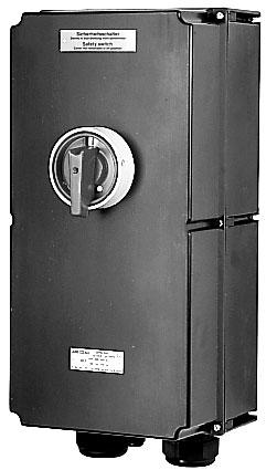 Взрывозащищенный выключатель 3-контактный, 125 А / 180 А