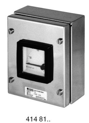 Измерительные приборы серии GHG 414 81